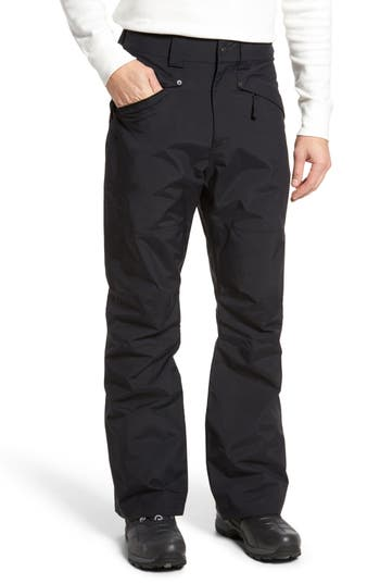 The North Face Straight Six Waterproof Snow Pants Black