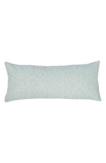 Pine Cone Hill Glaze Sequin Boudoir Pillow, Size One Size - Blue