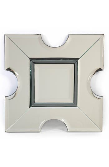 Zodax Square Wall Mirror, Size One Size - Metallic