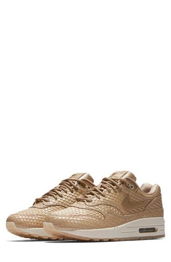 Nike Air Max 1 Premium Sneaker, Pink