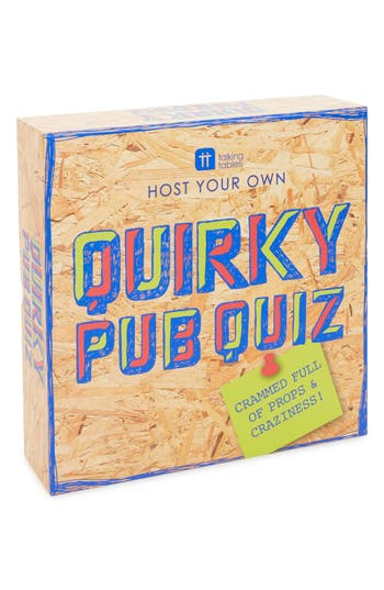 Talking Tables Host Your Own Quirky Pub Quiz Game