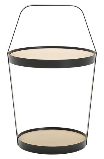 Design On Stock Usa Side Table, Size One Size - Black
