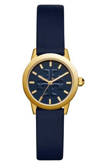 Tory Burch Gigi Leather Strap Watch, 28mm