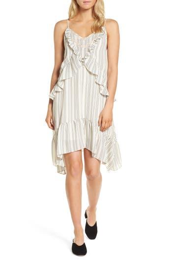 Rebecca Minkoff Taylor Ruffle Dress, White