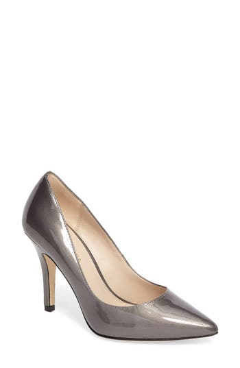 Pelle Moda Vally Pointy Toe Pump, Grey