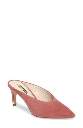 Louise Et Cie Karas Pointy Toe Slide Pump, Pink