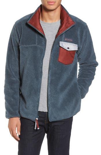 Columbia Mount Tabor Pocketed Fleece Jacket, Blue