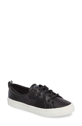 Sperry Crest Vibe Creeper Sneaker, Black