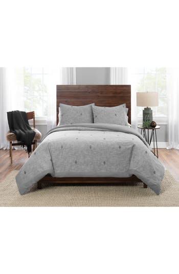 Pendleton Sedona Geo Comforter & Sham Set, Size King - Grey