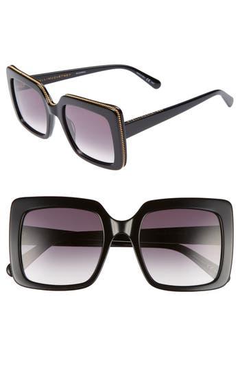 Stella Mccartney 5m Square Sunglasses - Black