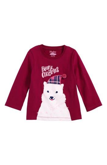 Infant Girls Hatley Beary Christmas Graphic Tee