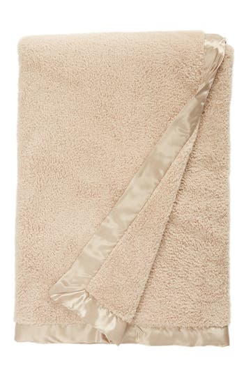 Giraffe At Home Chenille Throw, Size One Size - Brown