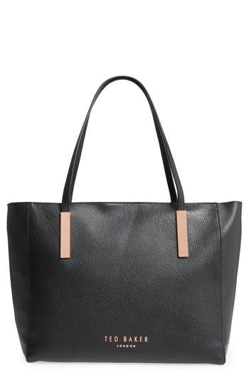 Ted Baker London Sarahh Leather Shopper - Black