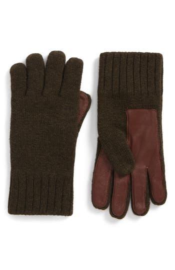 Ugg Smart Wool Blend Gloves, Green