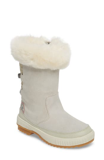 Pajar Kady Waterproof Insulated Winter Boot With Plush Cuff, White