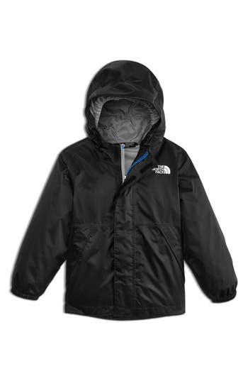 Boys The North Face Stormy Rain Triclimate Waterproof 3In1 Jacket Size 6  Black