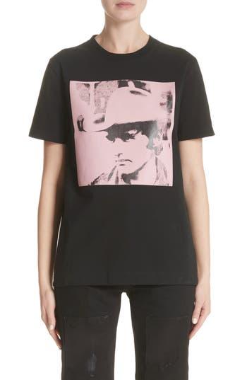 Calvin Klein 205W39Nyc X Andy Warhol Foundation Dennis Hopper Tee, Black