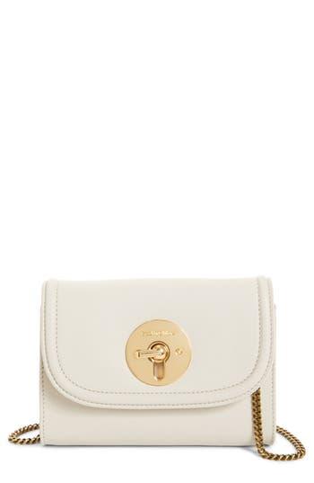 See By Chloe Mini Leather Crossbody Bag - Ivory