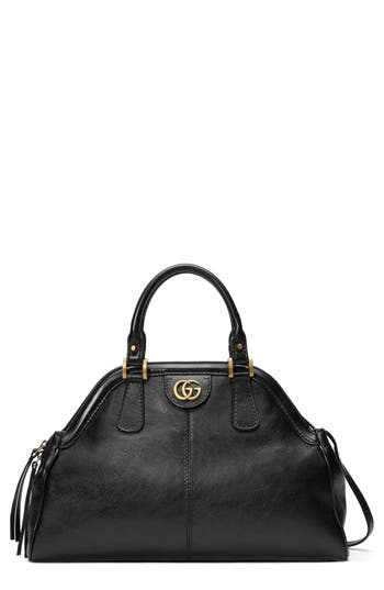 Gucci Medium RE Leather Satchel