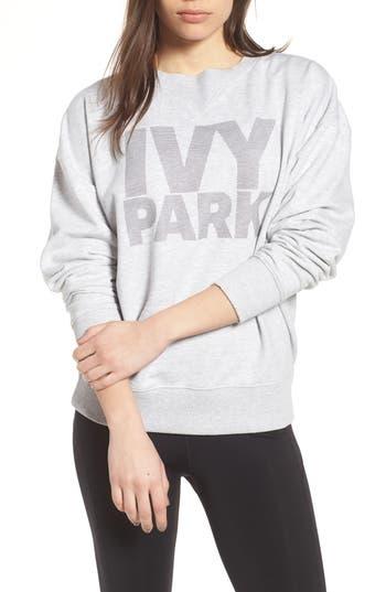 Ivy Park Dot Logo Sweatshirt, Grey