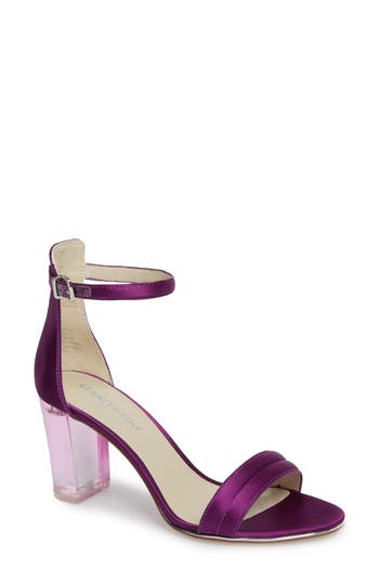 Women's Kenneth Cole New York 'Lex' Ankle Strap Sandal, Size 6 M - Purple