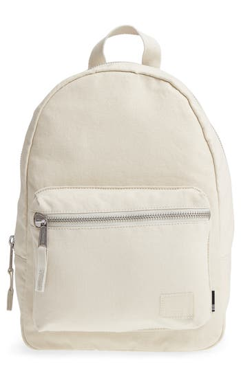 Herschel Supply Co. X-Small Grove Cotton Canvas Backpack - Grey