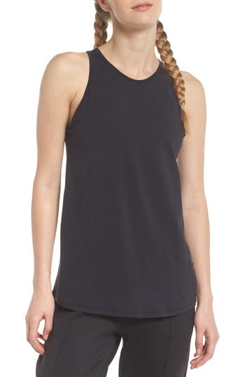 Zella Strength Racerback Tank, Black