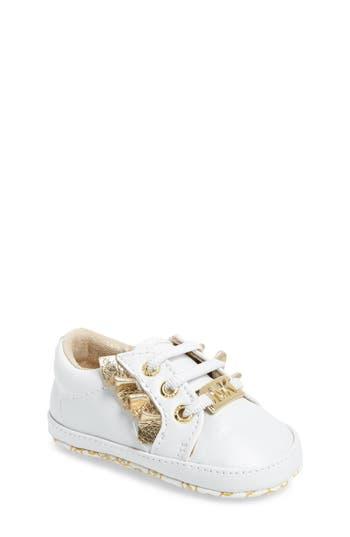 Girl's Michael Michael Kors Baby Rail Ruffle Sneaker