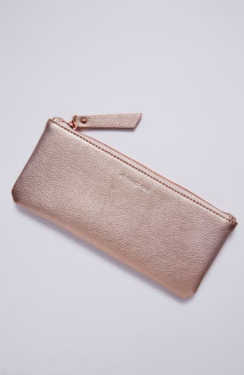 Idiom Pencil Case Anthropologie Rose Gold Gift