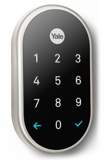 Nest x Yale Passcode Deadbolt Lock with Nest Connect