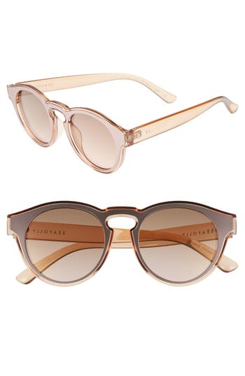 Women's Seafolly Bronte 50Mm Sunglasses - Blush