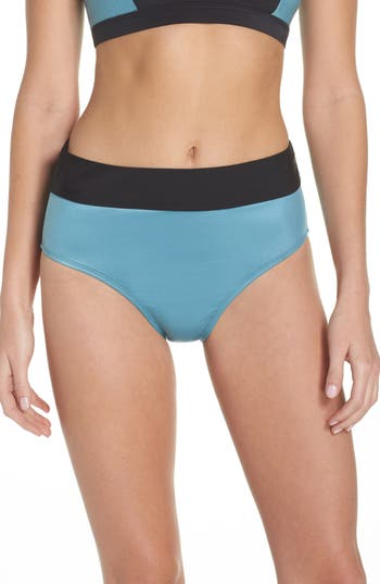 Zella Element High Waist Bikini Bottoms