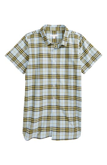 Girls Burberry Lola Scribble Check Tunic
