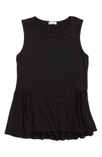 Girls Love Fire Side Peplum Tank
