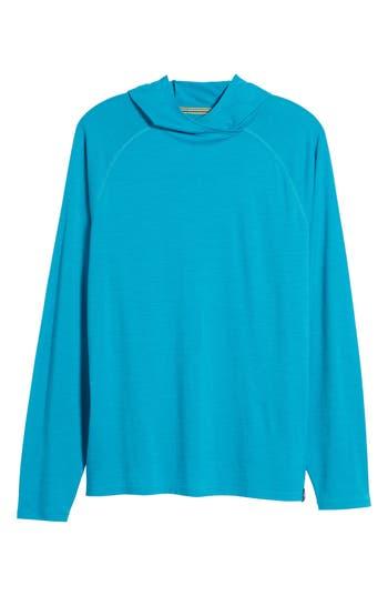 Smartwool Merino 150 Wool Blend Hoodie, Blue