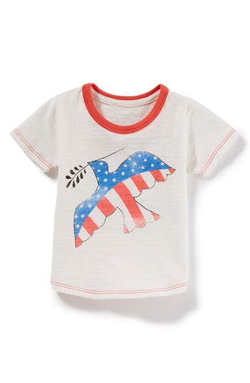 Infant Girls Peek Peace Dove Tee
