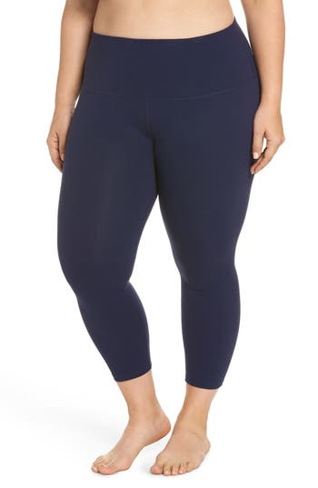 Plus Size Beyond Yoga High Waist Capri Leggings