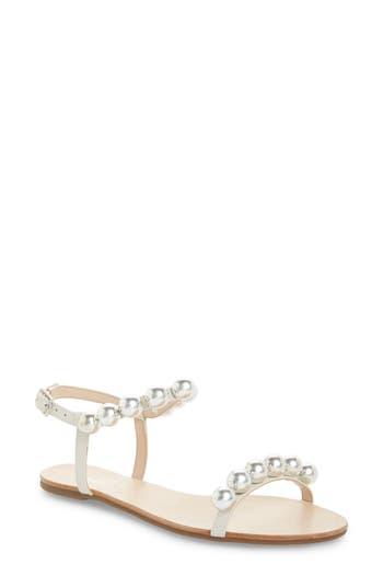 Schutz Hebe Ankle Strap Sandal- White