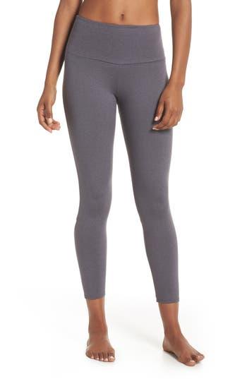 Onzie Elevate Midi Leggings, Grey