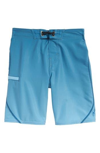 Boys ONeill Hyperfreak SSeam Board Shorts Size M  56  Blue