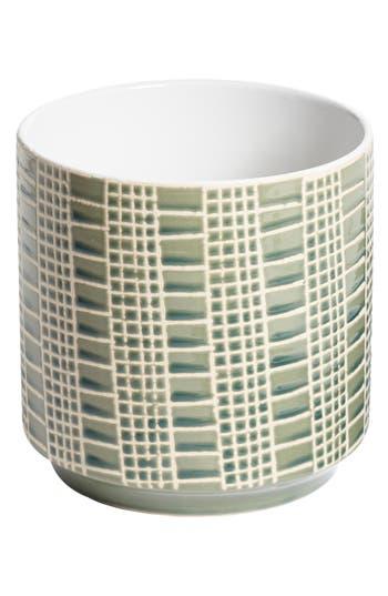 accent decor accent decor zati ceramic pot size one size green