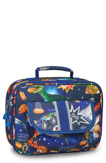 Boys Bixbee Space Odyssey Water Resistant Lunchbox
