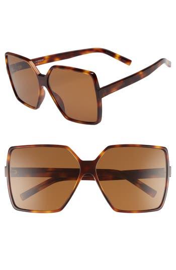 Saint Laurent Betty 6m Sunglasses - Medium Havana