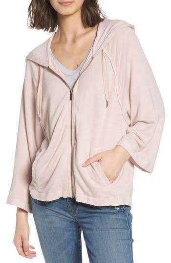 Splendid Dream Active Zip Hoodie, Pink