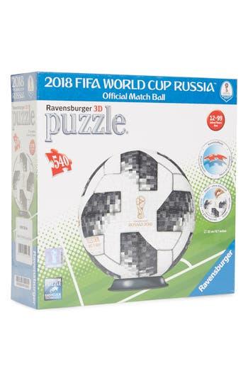 Boys Ravensburger 540Piece Adidas Fifa World Cup 3D Puzzleball