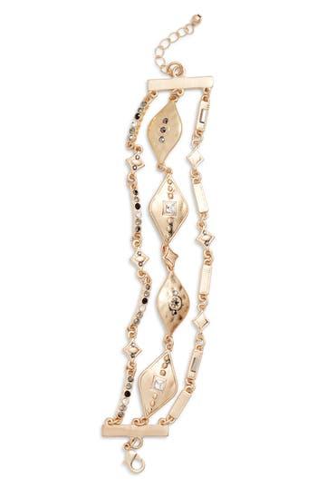 Treasure & Bond Three-Row Bracelet