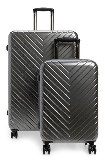 Nordstrom Chevron 29-Inch & 18-Inch Spinner Luggage Set