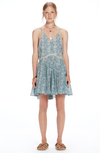 Womens Scotch  Soda Beach Dress Size Small  Blue