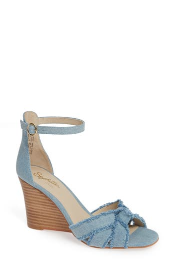 SEYCHELLES SUNRAYS WEDGE SANDAL