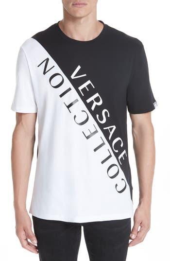 Versace Collection Angled Logo T-Shirt